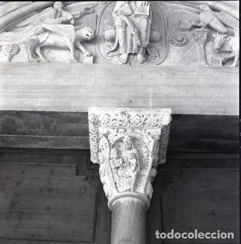 NEGATIVO ESPAÑA TARRAGONA CATEDRAL 1973 KODAK 55MM GRAN FORMATO FOTO PHOTO NEGATIVE (Postales - España - Cataluña Moderna (desde 1940))