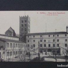 Postales: 9 - RIPOLL - PLAÇA DE LA CONSTITUCIÓ - L. ROISIN. Lote 207237263