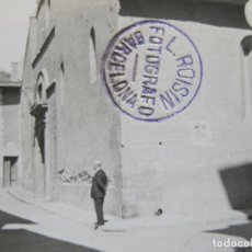 Postales: PUIGCERDA-ARCHIVO ROISIN-FOTO PEGADA-POSTAL PROTOTIPO-FOTOGRAFICA-(71.186). Lote 207237318