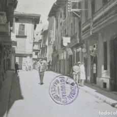 Postales: PUIGCERDA-CARRER DEL PROGRES-ARCHIVO ROISIN-FOTO PEGADA-POSTAL PROTOTIPO-FOTOGRAFICA-(71.189). Lote 207237481