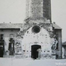Postales: PUIGCERDA-TORRE DE LA IGLESIA-ARCHIVO ROISIN-FOTO PEGADA-POSTAL PROTOTIPO-FOTOGRAFICA-(71.191). Lote 207237560