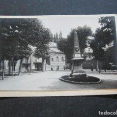 Postales: PUIGCERDA-PLAZA DE LOS HEROES-ARCHIVO ROISIN-FOTO PEGADA-POSTAL PROTOTIPO-FOTOGRAFICA-(71.192). Lote 207237623