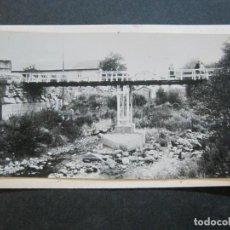 Postales: PUIGCERDA-PUENTE INTERNACIONAL-ARCHIVO ROISIN-FOTO PEGADA-POSTAL PROTOTIPO-FOTOGRAFICA-(71.193). Lote 207237691