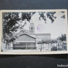 Postales: SANTA COLOMA DE FARNERS-PLAÇA REPUBLICA-ROISIN-FOTO PEGADA-POSTAL PROTOTIPO-FOTOGRAFICA-(71.195). Lote 207237866