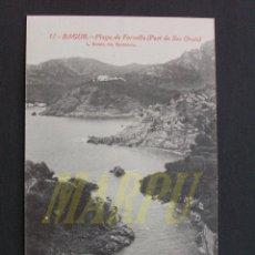 Postales: 11 - BAGUR - PLAYA DE FORNELLS (PORT DE SES ORATS) - L. ROISIN. Lote 207238002