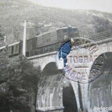 Postales: RIBAS DE FRESSER-PASO DEL FERROCARRIL-ROISIN-FOTO PEGADA-POSTAL PROTOTIPO-FOTOGRAFICA-(71.286). Lote 207238138