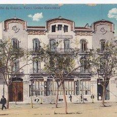 Postales: GIRONA S. FELIU DE GUIXOLS NUEVO CASINO. ED. A.T.V. ANGEL TOLDRA VIAZO Nº 3093. CIRCULADA EN 1915. Lote 207331388