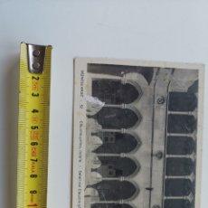 Postales: POSTAL DE MONTSERRAT Nº52 CLAUSTRO GÓTICO. FOT JUNQUÉ O.S.B. Lote 207335101