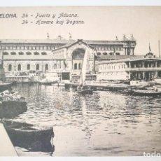 Postales: POSTAL - 34 PUERTO Y ADUANA - ED. JORGE VENINI - SERIE STANDARD. Lote 207335542