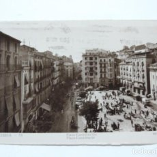Postales: FOTO POSTAL DE LERIDA, PLAZA CONSTITUCION, LERIDA N. 13, ED. GUILERA.. Lote 207353917