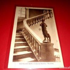 """Postales: CALDAS DE MONTBUI """" BALNEARIO RIUS ESCRITA Y SELLADA CON SELLO REPUBLICA 1935. Lote 207705225"""