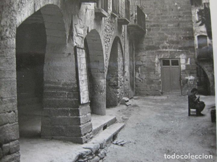 GUIMERA-CALLE TIPICA-POSTAL FOTOGRAFICA ANTIGUA-(71.337) (Postales - España - Cataluña Antigua (hasta 1939))