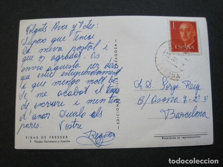 Postales: RIBAS DE FRESSER-PASEO GUIMERA Y FUENTE-SICILIA EDICIONES-9-POSTAL ANTIGUA-(71.338) - Foto 3 - 207858023