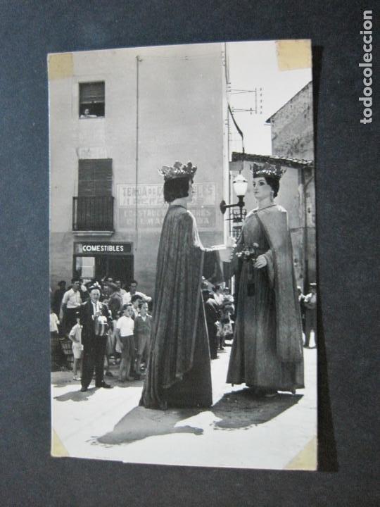 Postales: SAN HILARIO SACALM-LOS GIGANTES-ED·FOTOGRAFICAS BOSCH-11-POSTAL ANTIGUA-(71.344) - Foto 2 - 207860478