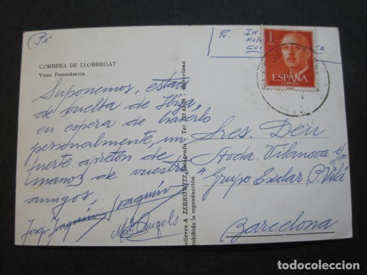 Postales: CORBERA DE LLOBREGAT-VISTA PANORAMICA-ZERKOWITZ FOTO-POSTAL ANTIGUA-(71.345) - Foto 3 - 207860932