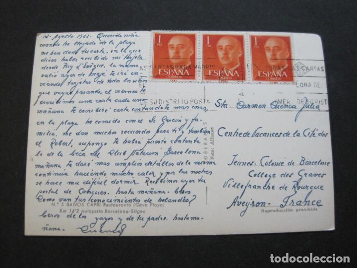 Postales: GAVA-BAÑOS CAPRI-RESTAURANTE-SOBERANAS-POSTAL ANTIGUA-(71.348) - Foto 3 - 207861930