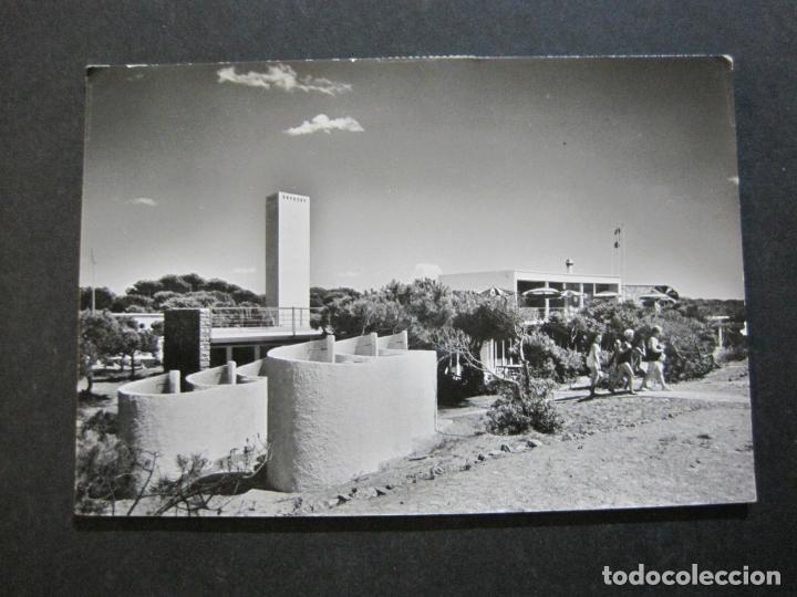 GAVA-BAÑOS CAPRI-RESTAURANTE-SOBERANAS-POSTAL ANTIGUA-(71.348) (Postales - España - Cataluña Antigua (hasta 1939))