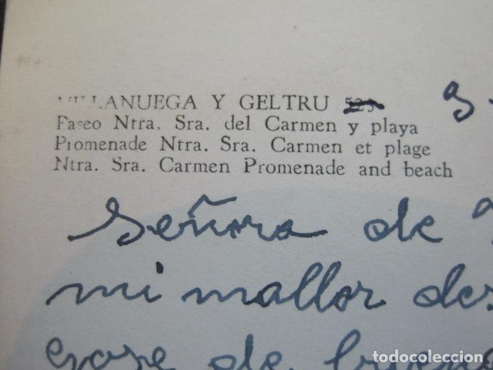 Postales: VILANOVA I GELTRU-PASEO NTRA SRA DEL CARMEN-EXCL·OLIVELLA-FOTO GUILERA-POSTAL ANTIGUA-(71.351) - Foto 5 - 207862855