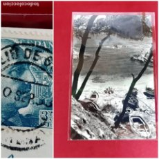 "Postales: PLATJA D'ARO-GIRONA-1953-CALA ""SA COVA""-. Lote 208363498"