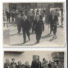 Postales: SANTA PERPÈTUA DE MOGODA - HOMENAJE A LA VEJEZ 1950 - 2 FOTOS 11,5 X8,4 CM. - P30836. Lote 208382675