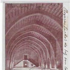 Postales: SANTES CREUS - SALA DORMITORIO DE MONJES JÓVENES - P30827. Lote 208383611