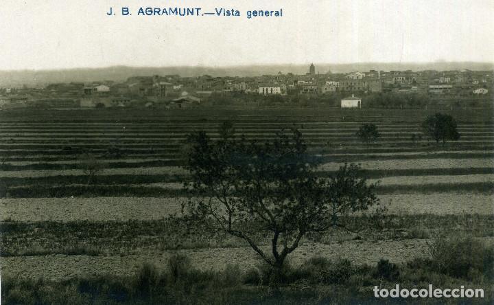 AGRAMUNT - VISTA GENERAL (Postales - España - Cataluña Antigua (hasta 1939))