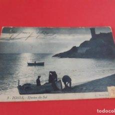Postales: TOSSA DE MAR-GIRONA-PRINCIPIOS DE SIGLO-CIRCULADA. Lote 209088646
