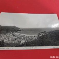 Postales: TOSSA DE MAR-GIRONA-AÑOS 50/60 - SIN CIRCULAR. Lote 209091270