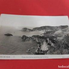 Postales: TOSSA DE MAR-GIRONA-AÑOS 50/60 - SIN CIRCULAR. Lote 209091402