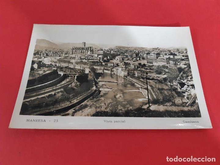 MANRESA - BARCELONA AÑOS 50-60 CIRCULADA (Postales - España - Cataluña Antigua (hasta 1939))