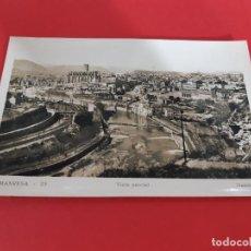 Postales: MANRESA - BARCELONA AÑOS 50-60 CIRCULADA. Lote 209183462