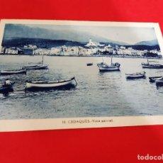 Postales: CADAQUES-GIRONA AÑO PRINCIPIOS DE SIGLO. Lote 209195120