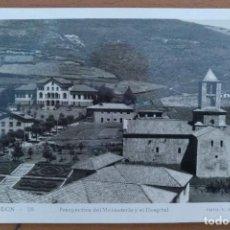 Postales: POSTAL CAMPRODON Nº 28 MONASTERIO Y HOSPITAL SIN CIRCULAR FOTO V. PLANESAS. Lote 209351060