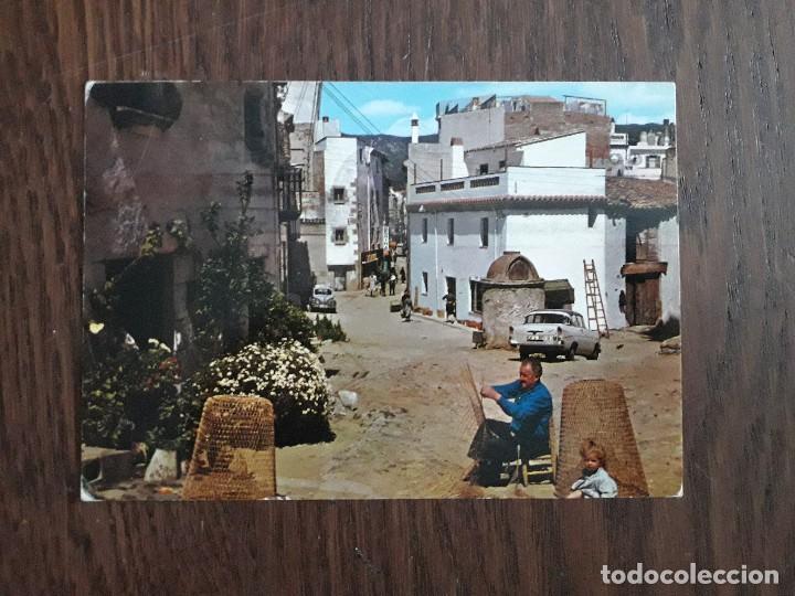 POSTAL DE CALLE TÍPICA DE TOSSA, COSTRA BRAVA. CATALUÑA (Postales - España - Cataluña Moderna (desde 1940))