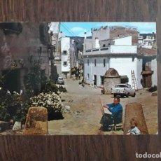 Postales: POSTAL DE CALLE TÍPICA DE TOSSA, COSTRA BRAVA. CATALUÑA. Lote 209765370