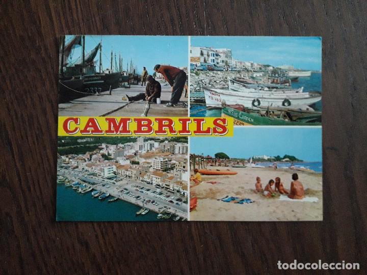 POSTAL DE CAMBRILS, COSTA DORADA, TARRAGONA. (Postales - España - Cataluña Moderna (desde 1940))