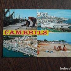 Postales: POSTAL DE CAMBRILS, COSTA DORADA, TARRAGONA.. Lote 209765413