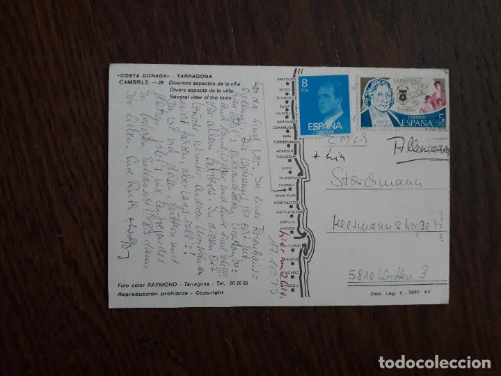 Postales: postal de Cambrils, Costa Dorada, Tarragona. - Foto 2 - 209765413