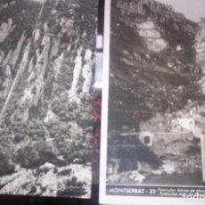 Postales: MONTSERRAT - LOTE DOS POSTALES -. Lote 209776461