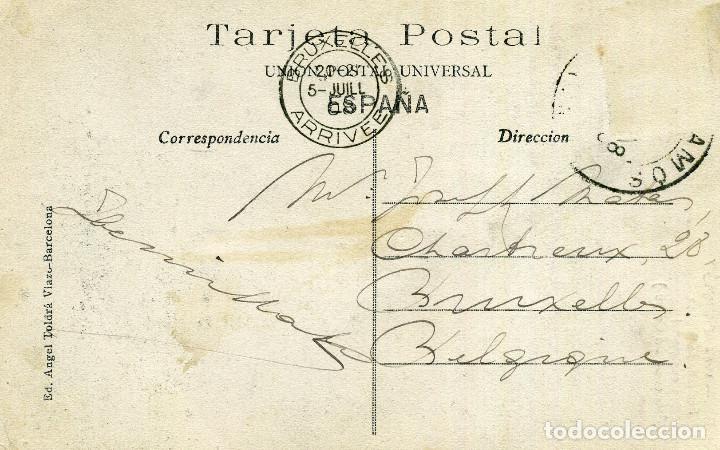 Postales: PALAMÓS - FACHADA DE LA CASA CONSISTORIAL - Foto 2 - 209896923