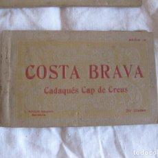 Cartes Postales: COSTA BRAVA CADAQUES CAP DE CREUS. BLOC DE 20 POSTALES. L. ROISIN FOTOGRAFO.. Lote 210057238