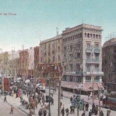 Postales: BARCELONA RAMBLA DE LAS FLORES. ED. DR TRENKLER CO.,LEIPZIG 1908 BCA 6. SIN CIRCULAR. Lote 210115910