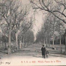 Postales: POSTAL A.T.V. 440 REUS PASEO DE LA MINA ATV, CIRCULADA EN 1906. Lote 210365858