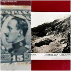Postales: NURIA -GIRONA- AÑO 1931-CIRCULADA CON SELLO. Lote 210638889