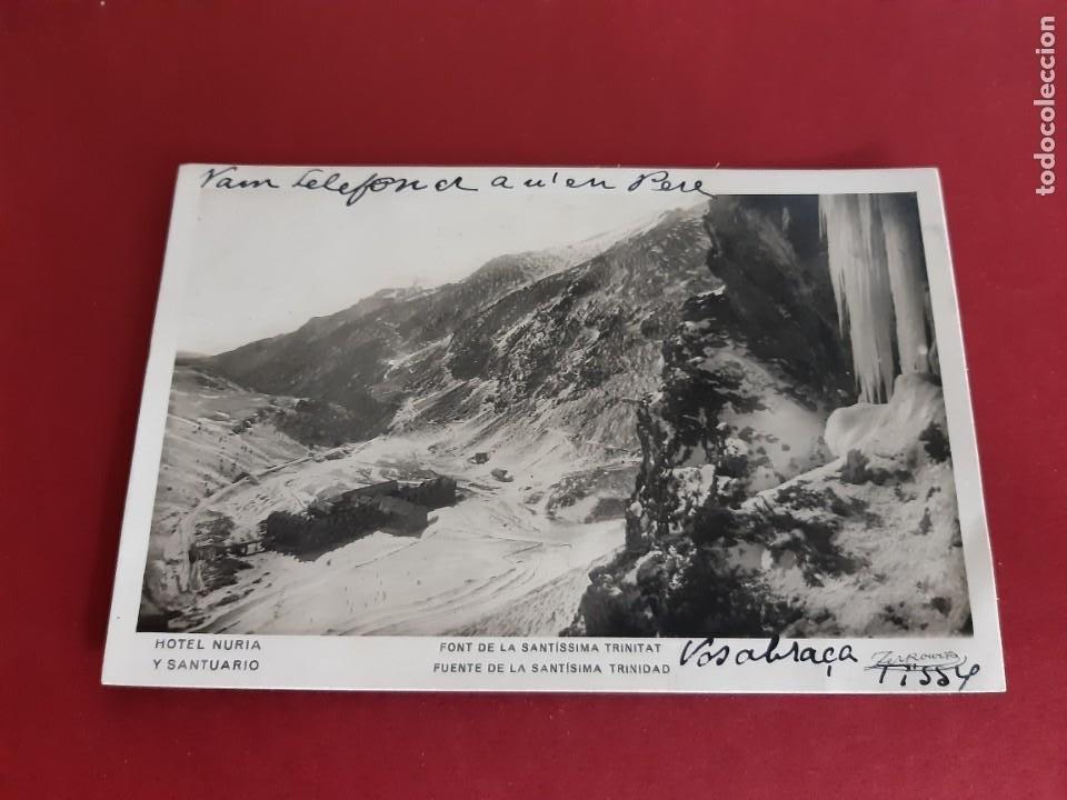 NURIA -GIRONA- PRINCIPIOS DE SIGLO-CIRCULADA CON SELLOS REPUBLICANOS (Postales - España - Cataluña Antigua (hasta 1939))