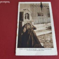 Postales: NURIA -GIRONA- PRINCIPIOS DE SIGLO-CIRCULADA CON SELLOS REPUBLICANOS. Lote 210639659