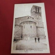 Postales: CALDES DE MALAVELLA-GIRONA-SIN CIRCULAR. Lote 210645342