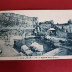 Postales: CALDES DE MALAVELLA-GIRONA-SIN CIRCULAR. Lote 210645358