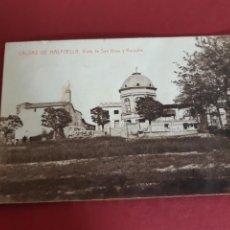 Postales: CALDES DE MALAVELLA-GIRONA-SIN CIRCULAR. Lote 210645372