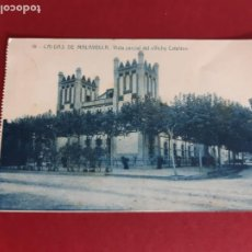 Postales: CALDES MALAVELLA-GIRONA-AÑOS 30-CIRCULADA CON SELLOS. Lote 210681614